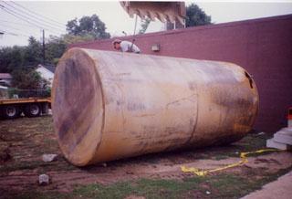 Tank pull